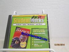 Glencoe Science Physics: Principles & Problems StudentWorks Plus CD LN 3S1-3M273