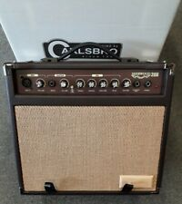 Carlsbro Sherwood 20r acoustic guitar amplifier, with reverb, XLR mic input, NEW