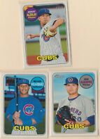 2018 HERITAGE MINOR LEAGUE  A Alzolay  N Velazquez  J Albertos  Chicago Cubs