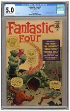Fantastic Four #1 (CGC 5.0) Golden Record Reprint; Jack Kirby; Marvel; 1966