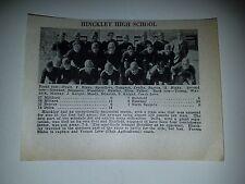 Hinckley & Springville Utah High School 1930 Football Team Picture