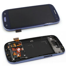 For Samsung Galaxy S3 i9300 i9305 LCD Touch Display Screen Digitizer Deep Blue