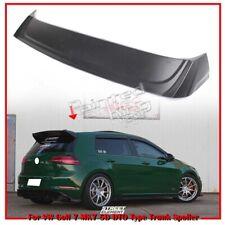 Unpainted For Volkswagen Golf 7 MK7 5D Hatchback DTO Look Rear Trunk Spoiler 15+