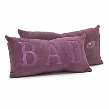 Relaxdays 10019241 oreiller de Détente pour Baignoire Polyester Violet 12 x 37