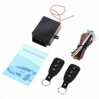 Universal Car Auto Remote Central Kit Door Lock Locking Vehicle Keyless Ent S5H2
