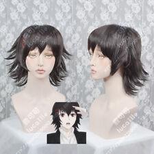 Tokyo Ghoul:re Suzuya Juzo Juuzou Anime Cosplay Wig +Clips +CAP+TRACK