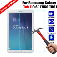 Tempered GLASS Screen Protector Cover For Samsung Tab A / Tab E/ Tab S S2 S3 S4