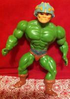 1981 Vintage Mattel MOTU Man at Arms Loose Action Figure Master of the Universe