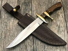 "ASH  H706 CUSTOM HANDMADE HUNTING BOWIE KNIFE 440C STEEL 12"""