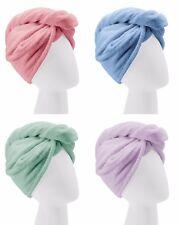 Turbie Twist Microfiber Hair Towel Wrap [Single Unit] Pink, Blue, Purple or Aqua
