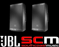 "JBL EON612 12"" 2-Way Sound Reinforcement 500W RMS Active PA Speaker PAIR PACKAGE"