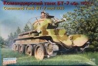 Eastern Express 1:35 Command Tank BT-7 mod 1935 Plastic Model Kit #35110U1