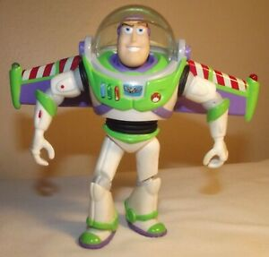 "Toy Story Disney Pixar 5"" Buzz Lightyear Talking Action Figure w/Wings"