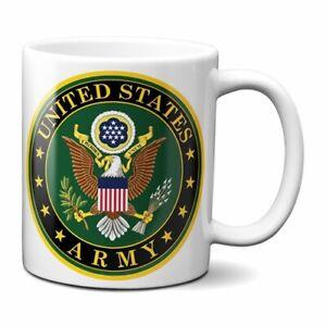ARMY COFFEE MUG 11oz CERAMIC UNITED STATES MILITARY USA