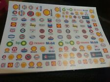 Gas Decals!! CLEAR WATER-SLIDE DECALS FOR HOT WHEELS  1:64 scale made in USA!