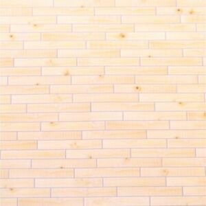 Dolls House 1/12th Light Wood Effect Self Adhesive Flooring Paper 42.5 x 28.5cms