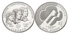 2013 Girl Scouts of the USA Centennial Silver Dollar (Uncirc) UNITED STATES MINT