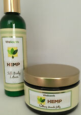 VitaScents HEMP Soothing Muscle Jelly & HEMP Silk Body Lotion