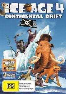 Ice Age 4 - Continental Drift (DVD, 2012)