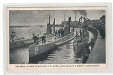 Naval Single Collectable Military Postcards Germany