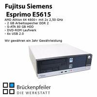 Fujitsu Siemens Esprimo E5615 AMD 64 X2 4800 + 2 GB RAM 80 GB HDD DVD-ROM