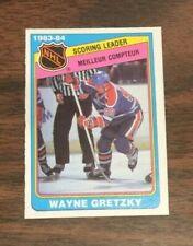 1984-85 O-PEE-CHEE HOCKEY CARD #380 WAYNE GRETZKY EDMONTON OILERS NRMT [EV#137]