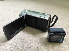 Panasonic HDC-TM10 8 GB Camcorder With Many Extras