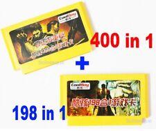 400 in 1 + 198 in 1 ( 2pcs ) Games Cartridge Classical Game Cards 8 Bit FC NES
