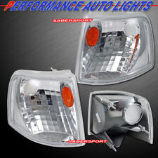Set of Pair Euro Clear Corner Signal Lights for 1993-1997 Ford Ranger