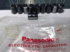 (Lot of 10) New Panasonic Audio Grade Electrolytic Capacitors 1000uf 25v Japan