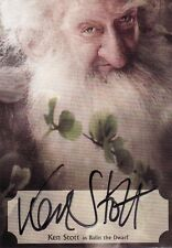 The Hobbit Desolation of Smaug Ken Stott Poster Auto Card 27/75