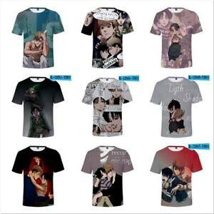 Killing Stalking 3D printed T shirt Moisture wicking casual summer tee tops