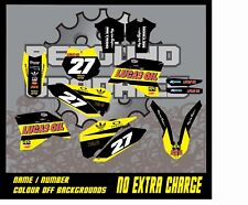 REBOUND Graphics Kit:Fits KTM SX SXF EXC 50 65 85 125 150 250 300 350 450 models