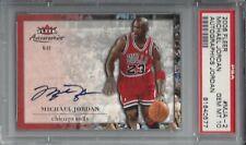 pop 3 - 2006 Fleer Autographics AUTO #MJA-2 Michael JORDAN PSA 10+++ HOF Bulls