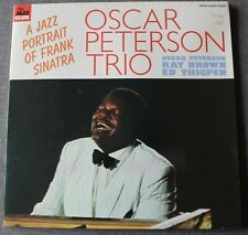 Oscar Peterson Trio, a jazz portrait of Frank Sinatra, LP - 33 tours