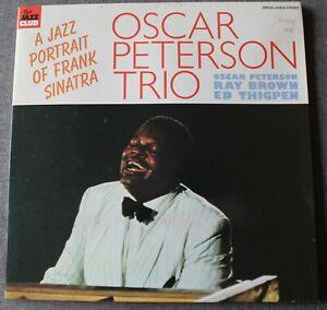 Oscar Peterson Trio, a jazz portrait of Frank Sinatra, LP - 33 tours