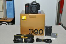 Nikon D90 12.3 MP Digital SLR Camera ( Body Only ) Only 1305 Clicks__Mint