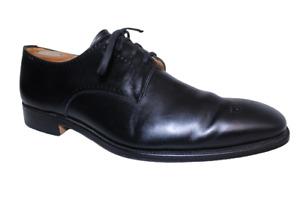 Grenson Men's London Black Leather Oxford Lace Dress Shoes Size 10 UK 11 US