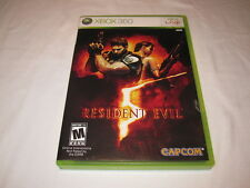 Resident Evil (Microsoft Xbox 360) Original Release Game Complete Excellent!