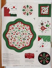 Patrick Lose Fabrics Christmas Merry Memories Table Topper Panel btp