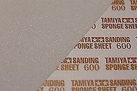 87148 TAMIYA SANDING SPONGE SHEET 600 FINISHING ACCESSORIES MODEL BUILDING