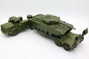 Dinky 660 Antar Tank Transporter and 651 Centurion Tank