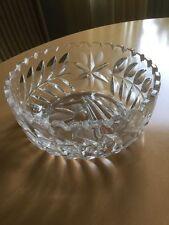 Kristall-schüsseln & schalen für 60er Jahre