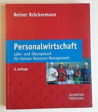 Personalwirtschaft Lehr-und Übungsbuch für Human Resource Management Bröckermann