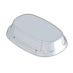 IP50 Impey Toilet Plinth 50mm