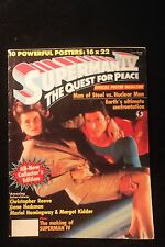 "Superman IV ""Quest For Peace"" Movie Poster Magazine 1987 (10 Posters 16 x 22)"