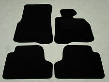 BMW 4 Series Coupe F32 2013-on Fully Tailored Deluxe Car Mats in Black