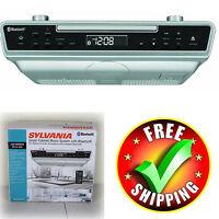 Under Counter Cabinet CD Player Radio Bluetooth Stereo Kitchen Remote