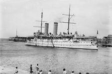 rp01414 - Dutch Navy Warship - De Ruijter at Curacao - photo 6x4