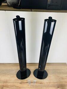 Harman/Kardon HTFS 2 B | Aluminium Säulen-Standfuß mit Kabelkanal | 2x (Paar)